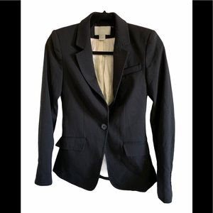 3/$30 H&M black womens one button blazer